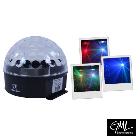 BoomToneDJ Atomic Ball LED
