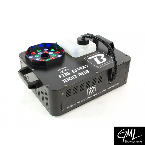 BoomToneDJ FOG SPRAY 1500 RGB
