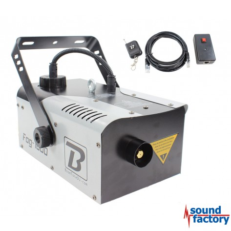 BoomToneDJ FOG 1000 V3 Nebelmaschine mit Funk-FB