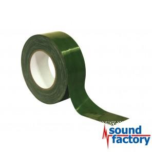 Gaffa Tape 50m Rolle, 50mm breit, grün