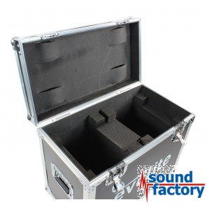EVOLITE FLIGHTCASE 2 MOVING WASH 19x12Z