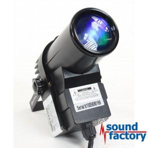 BoomToneDJ LED PINSPOT 12W RGBW