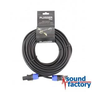 PLUGGER Speaker-Kabel 2x1,5mm, 15m