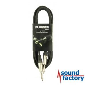PLUGGER Klinke/Klinkekabel mono, 3m