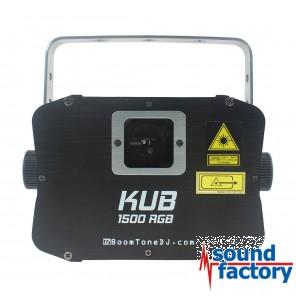 BoomToneDJ KUB 1500 RGB Laser