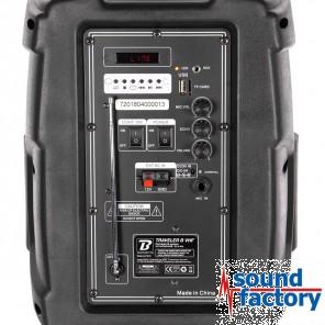 BoomToneDJ Traveler 8 VHF Akku und Funkmikro