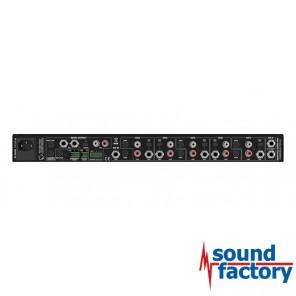 Hill Audio IPM 1610 V2 7-Kanal Line/Mic Mischpult