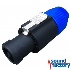 Speaker (Speakon kompatibel) Stecker, 4-pol.