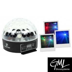 BoomToneDJ Crystal Ball LED, DMX