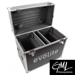 EVOLITE FLIGHTCASE TWIN 5R