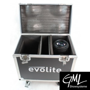 EVOLITE FLIGHTCASE TWIN 2R