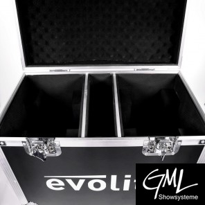 EVOLITE FLIGHTCASE TWIN BEAM 1R