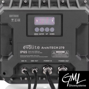 EVOLITE archiTECH270, IP65 Outdoor-Fluter