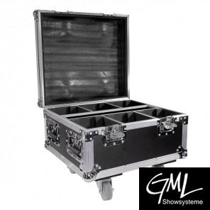 BoomToneDJ Flightcase für EZ-AKKU 4x15W 4in1 LED