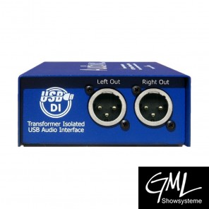 ARX 2-Kanal USB Audio/XLR Interface