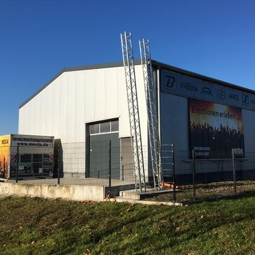 2011 war die Halle fertiggestellt und der große Umzug konnte beginnen.